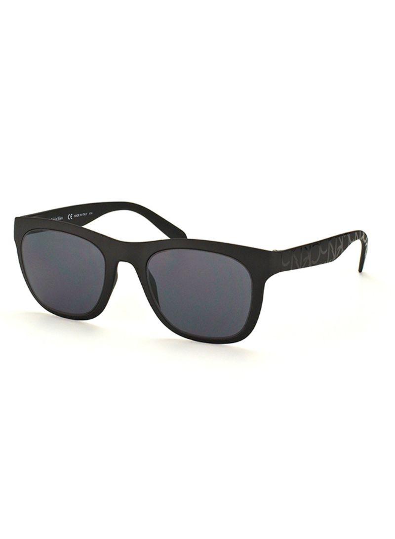 6a7490e9e9ec Shop Calvin Klein Full Rim Wayfarer Sunglasses 3163S-001-50 online ...
