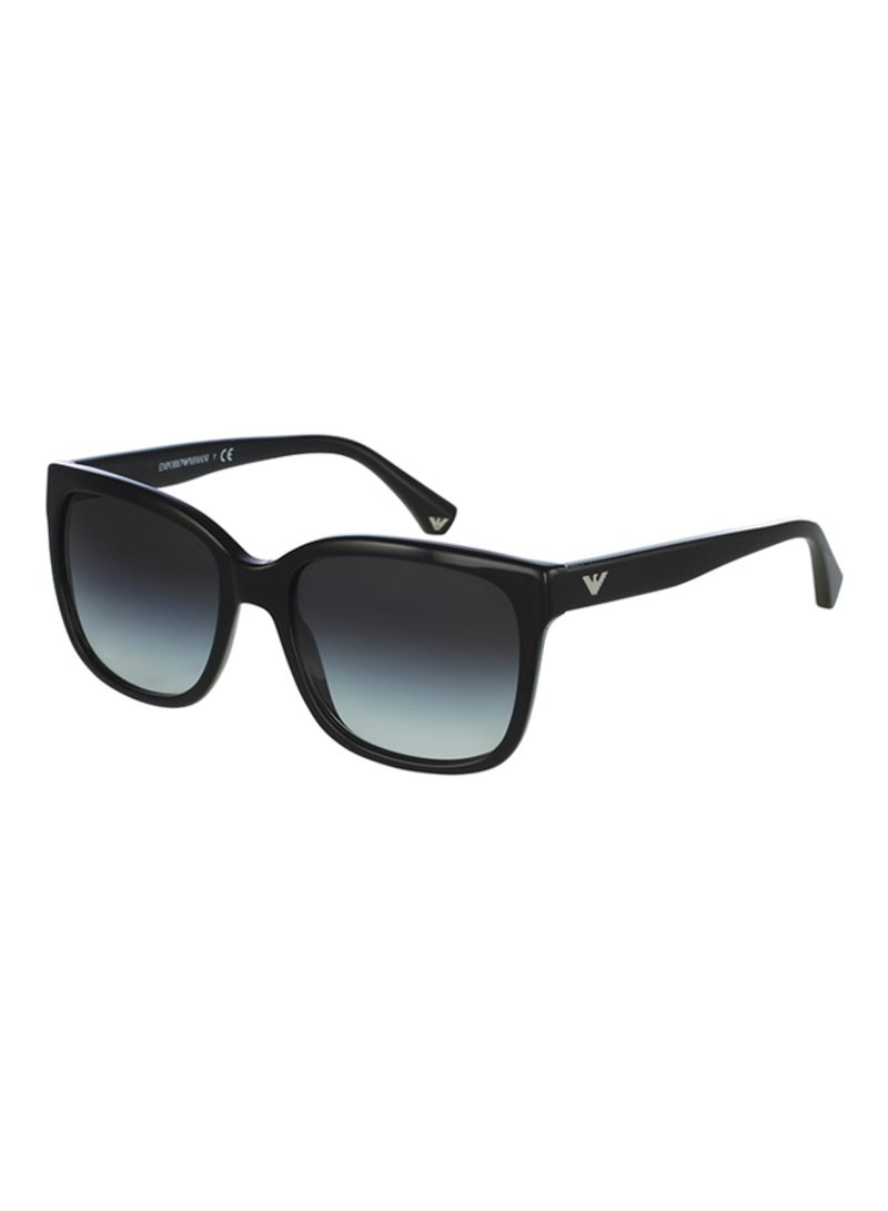 6e5c8f0f823 Women s Full Rim Wayfarer Sunglasses EA4042-5017-8G Price in Saudi ...