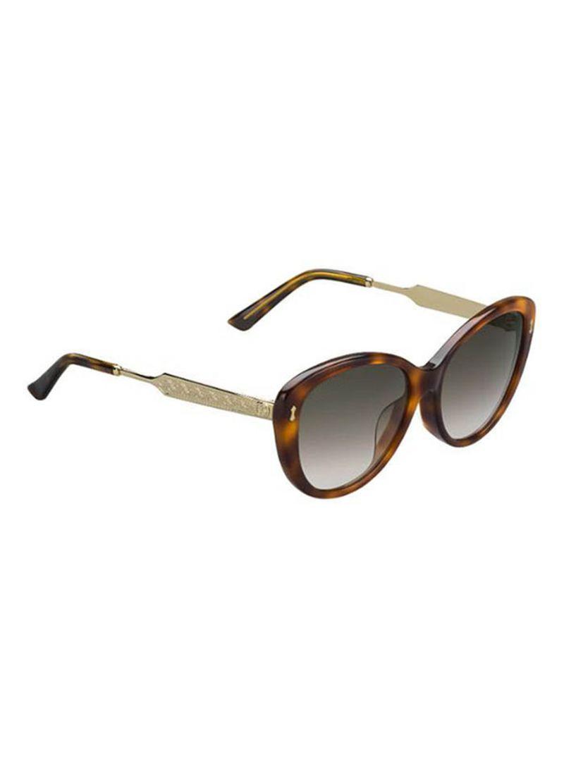 0918ba036dacf Shop GUCCI Women s Full Rim Cat Eye Sunglasses 3839-CRX-HA-57 online ...