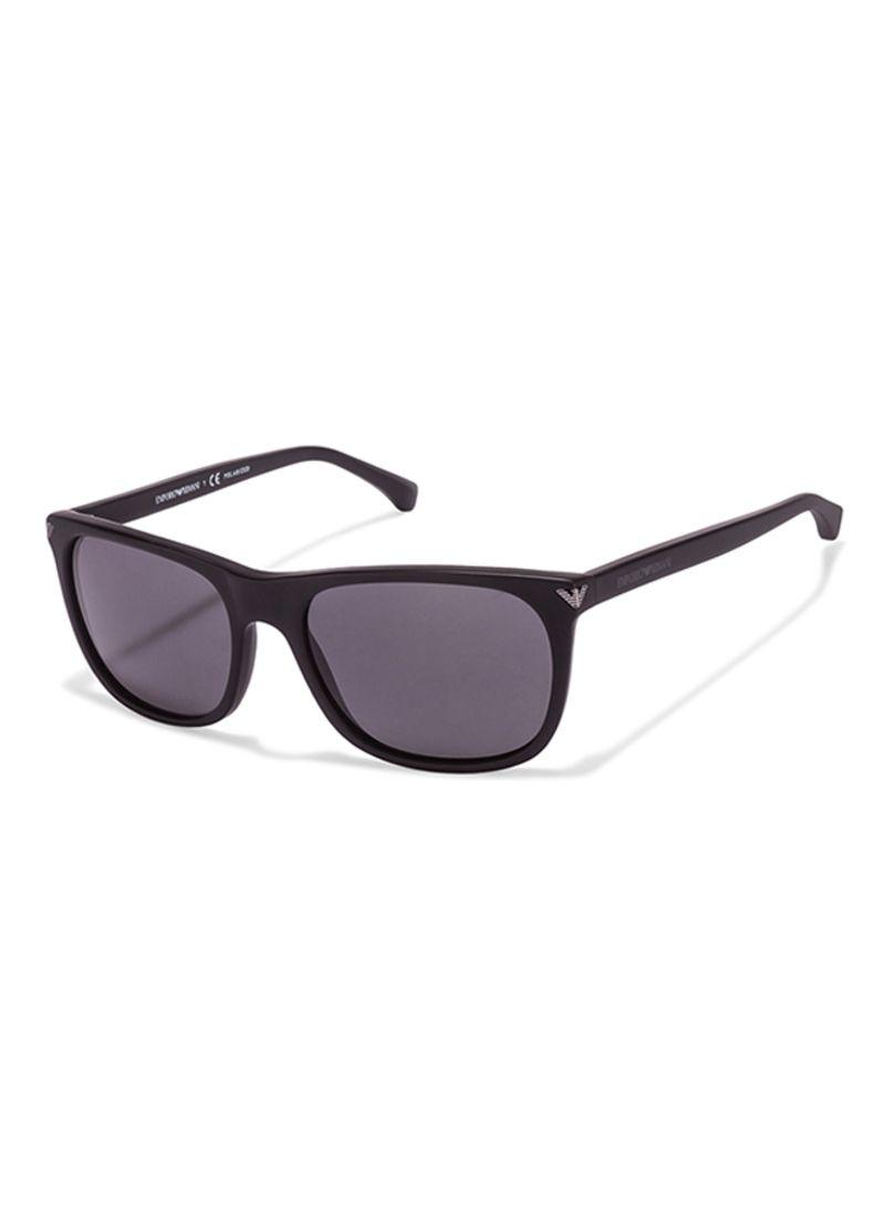 48692aae53c Buy Full Rim Wayfarer Sunglasses EA4056-5042-81-57 in Saudi Arabia