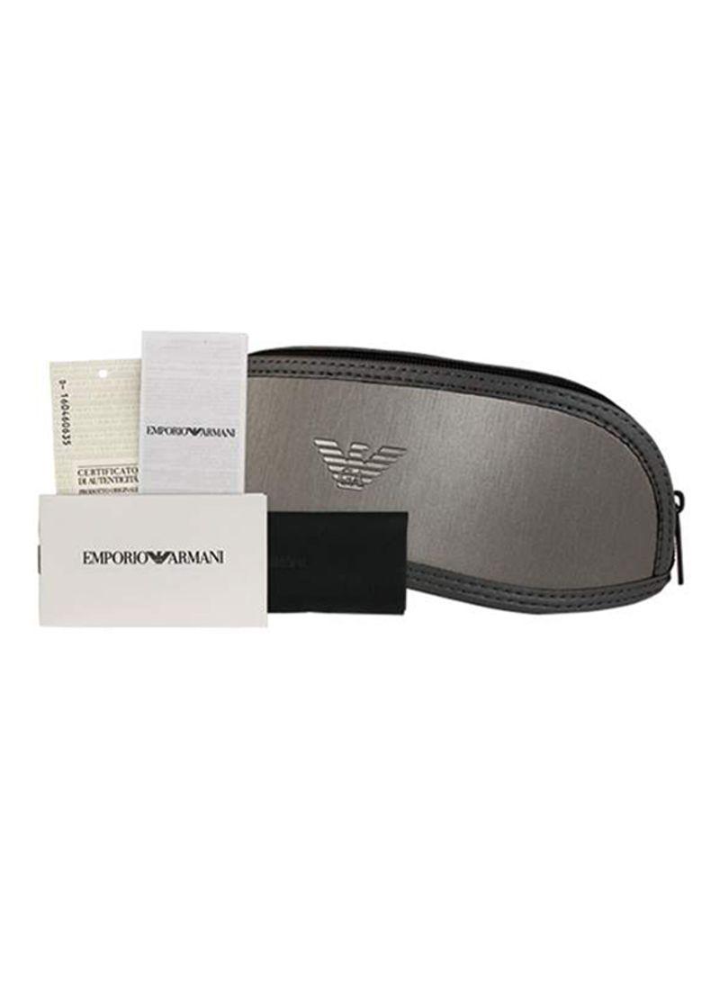 0bbb1a1247a Shop Emporio Armani Full Rim Clubmaster Sunglasses EA4056-5089-73-57 ...