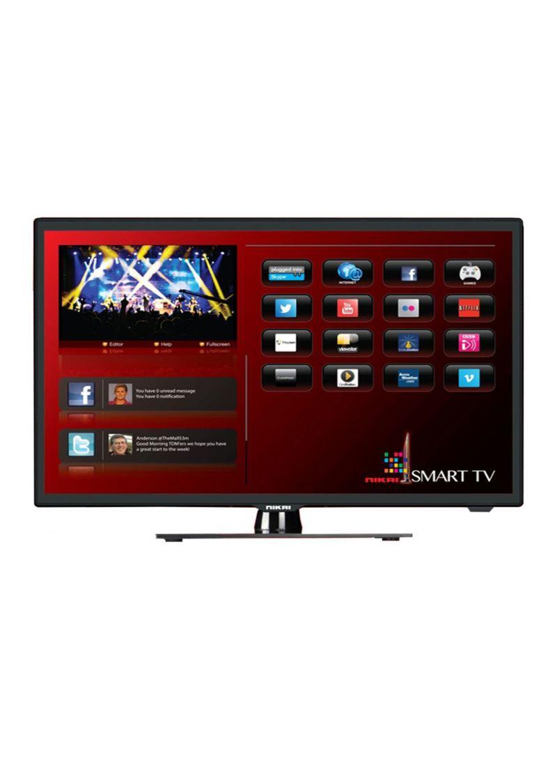 Shop NIKAI 40-Inch Full HD Smart LED TV NTV4000SLED Black online in Dubai, Abu Dhabi and all UAE