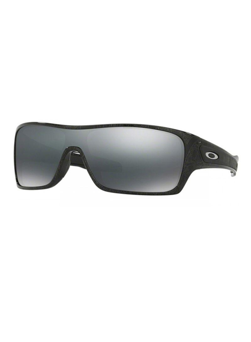fce8fe16766ca Shop OAKLEY Men s Rectangular Frame Sunglasses 9307-02  N.C 32 ...