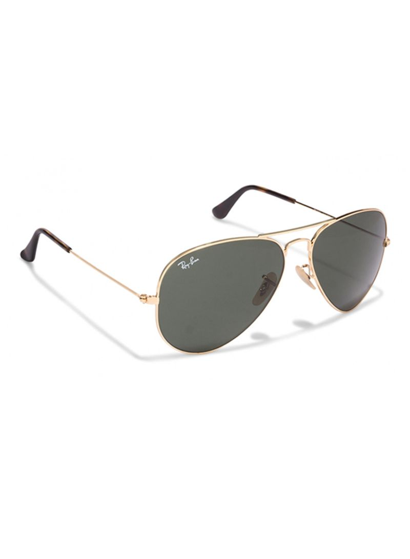 dc21d052ac9 Shop Ray-Ban Aviator Frame Sunglasses RB3025 W3275 58 online in ...