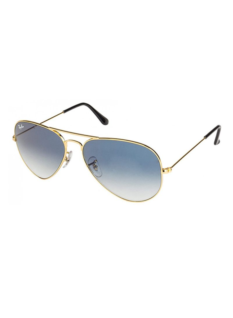 f5344bf725942 Shop Ray-Ban Aviator Frame Sunglasses RB3025 001 3F 58 online in ...