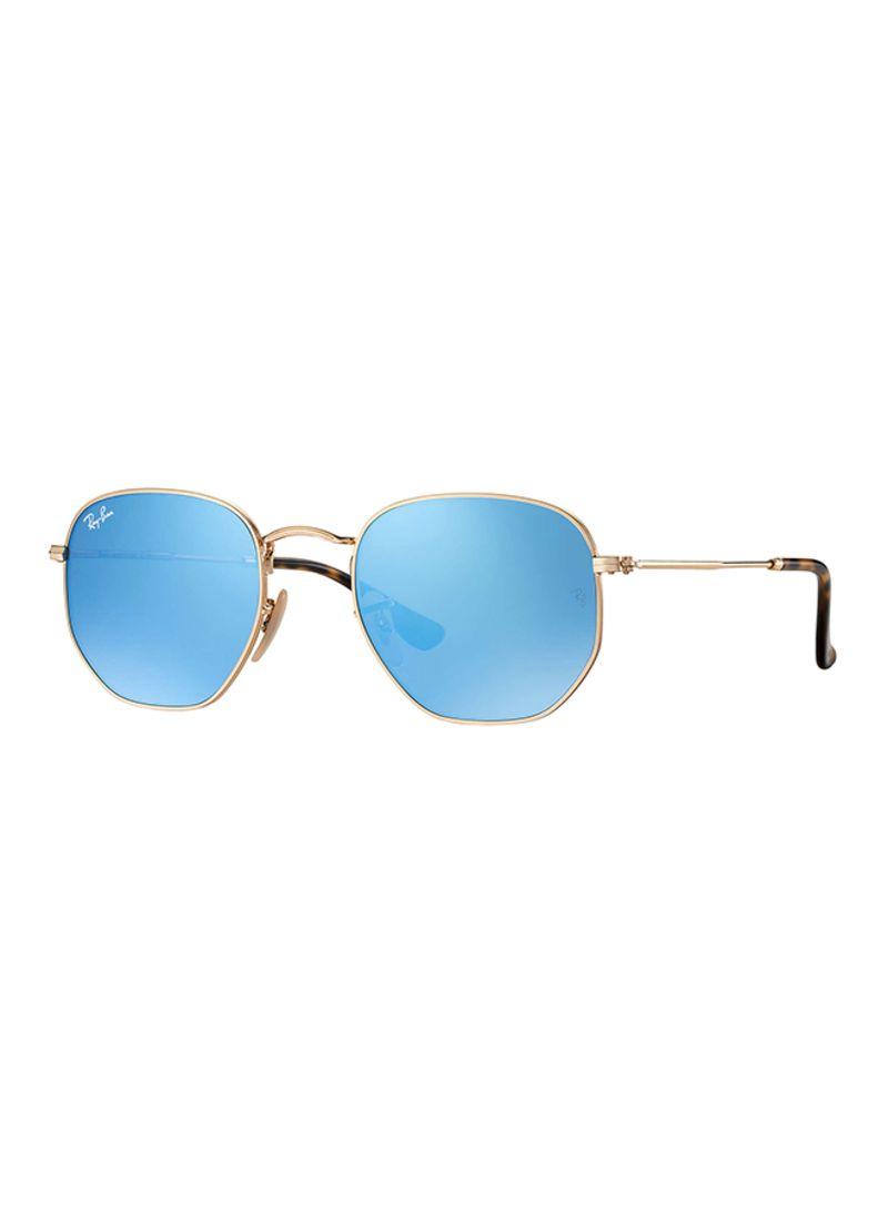 e0ff1b1f5 اشتري نظارة شمسية بإطار دائري وعدسات سداسية مسطحة من طراز RB3548N-001/9O-