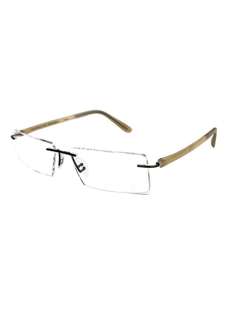 762fd075883 Shop Porsche Design Men s Rimless Eyeglass Frame 8205-S2-G-58 online ...