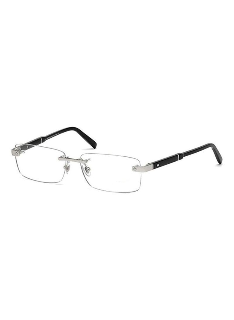 0b2ca01a46797 Buy Men s Rimless Rectangular Eyeglass Frame617-016-56 in Saudi Arabia