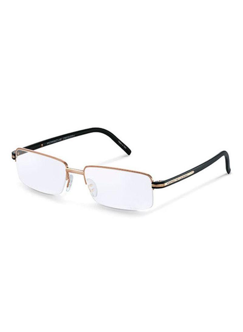 Semi Rimless Eyeglass Frame 8216 E 56