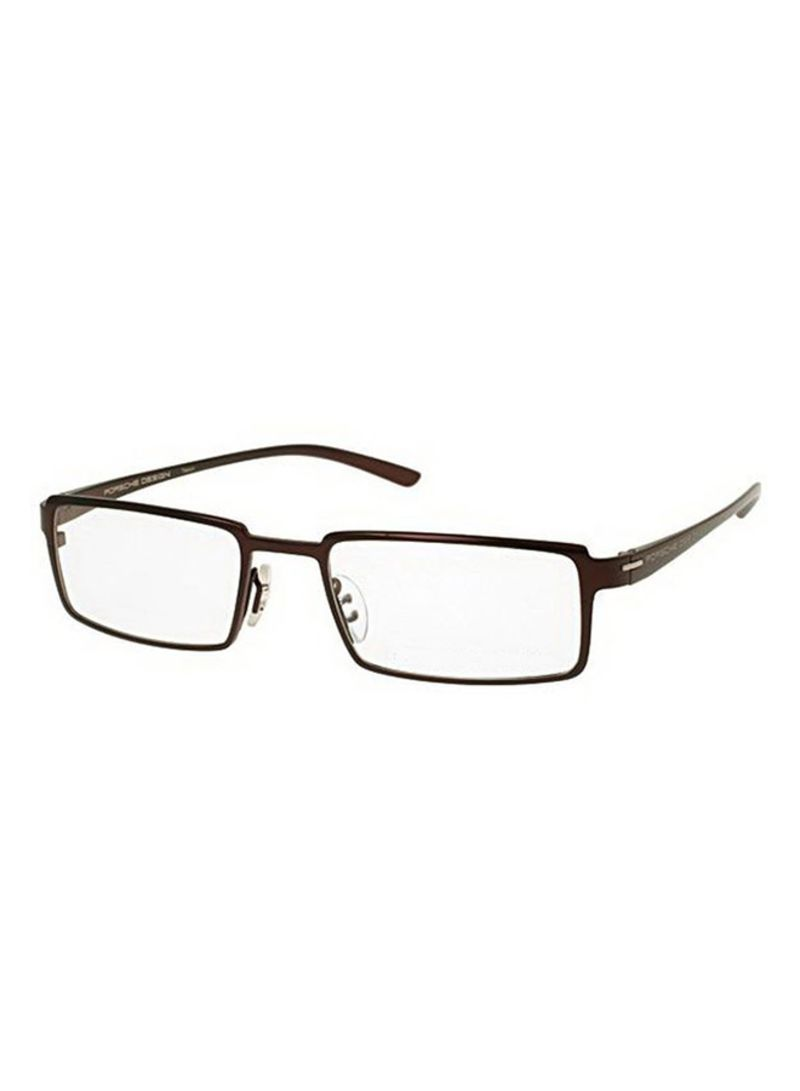 4843078adc1 otherOffersImg v1513693478 N12564123A 1. Porsche Design. Men s Full Rim  Rectangular Eyeglass Frame 8157-D-52