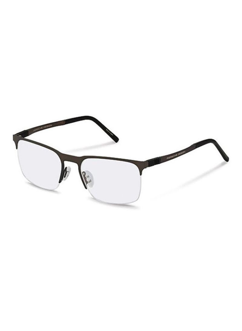 42ecb6f6f4a Shop Porsche Design Half Rim Square Eyeglass Frame 8277-D-5419-145 ...