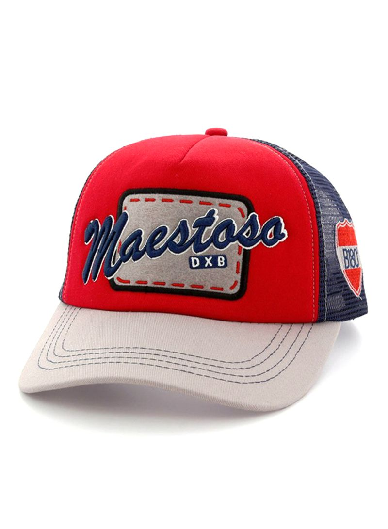 39803cd7de53a Shop B180 Maestoso Baseball Cap Beige Red Blue online in Dubai