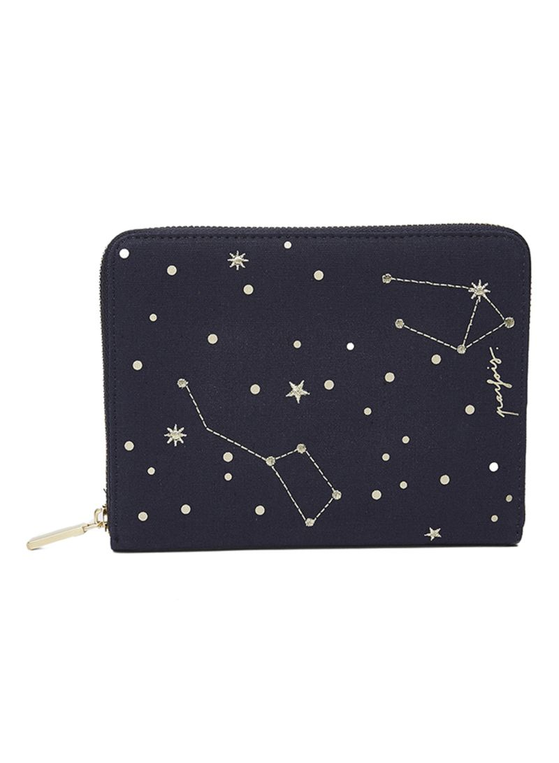 a4eedce11 Shop Parfois Studded Zip Around Wallet online in Dubai, Abu Dhabi ...