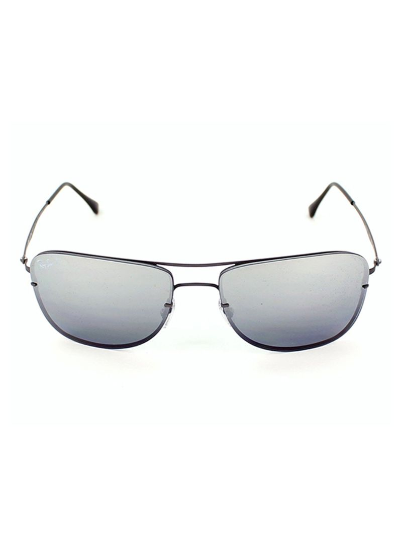 6d967f57e6a59 Buy Men s Rectangle Frame Sunglasses RB 8054 in Saudi Arabia