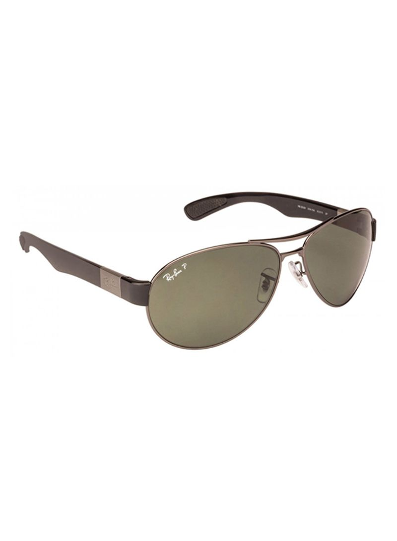 abe57860be Shop Ray-Ban Men s Aviator Frame Sunglasses RB3509 004 71 63 online ...