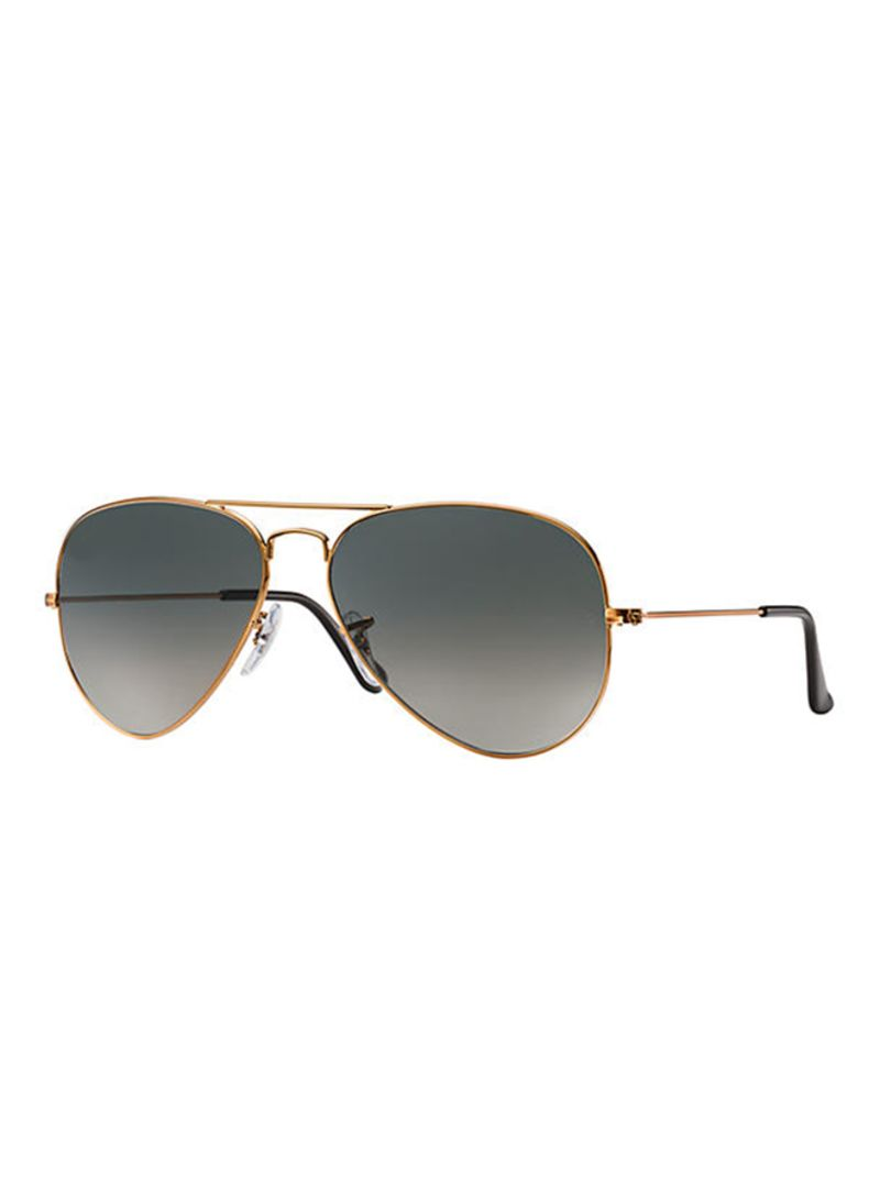 9bee8ee296 Shop Ray-Ban Aviator Frame Sunglasses RB3025 197 71 58 online in ...