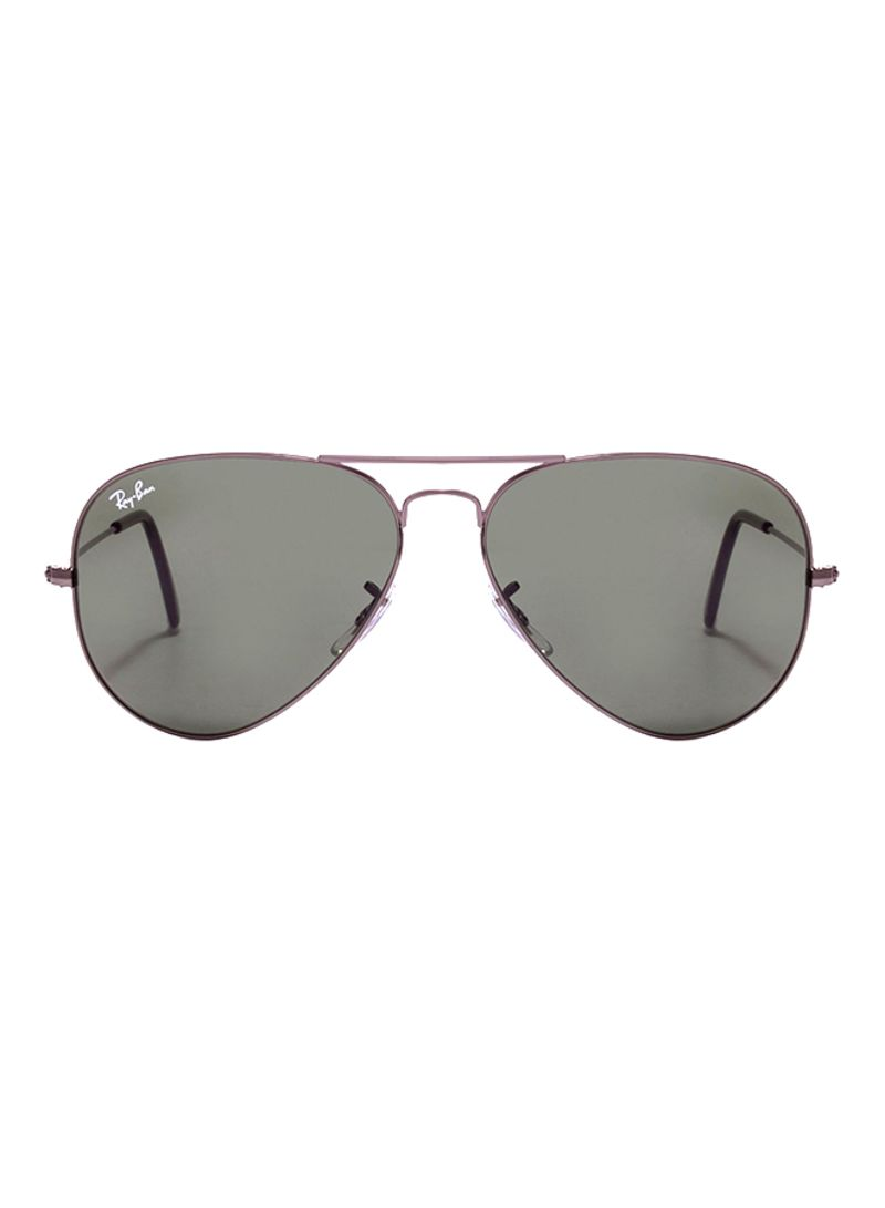 3ee38f3010 Shop Ray-Ban Aviator Frame Sunglasses RB3025 W0879 58 online in ...