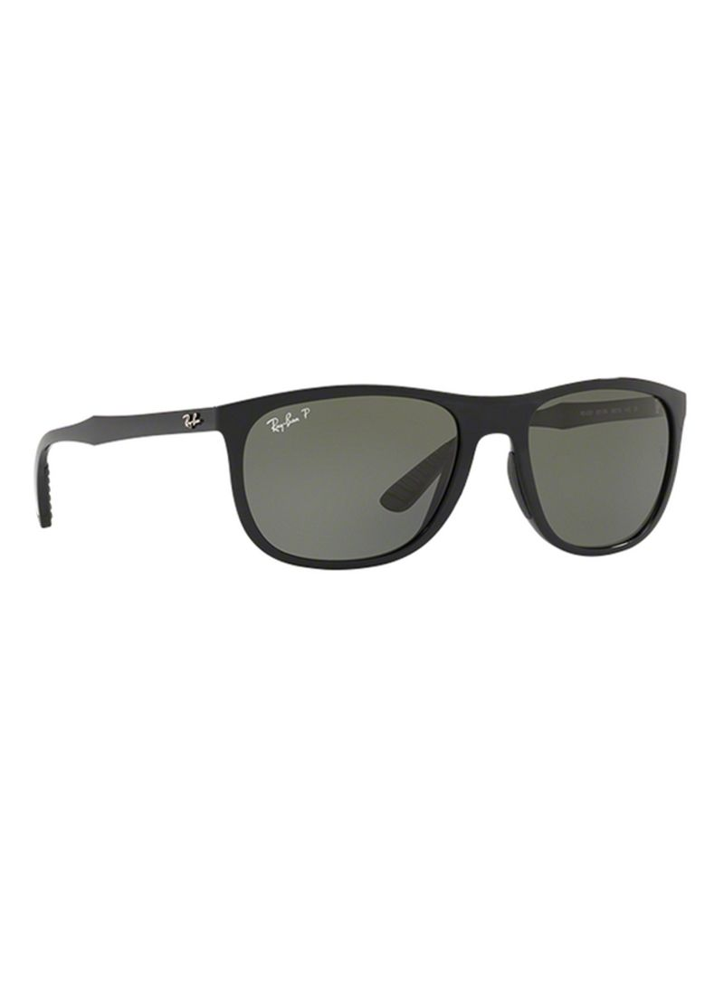 Shop Ray Ban Square Frame Sunglasses RB4291 6019A 58 online