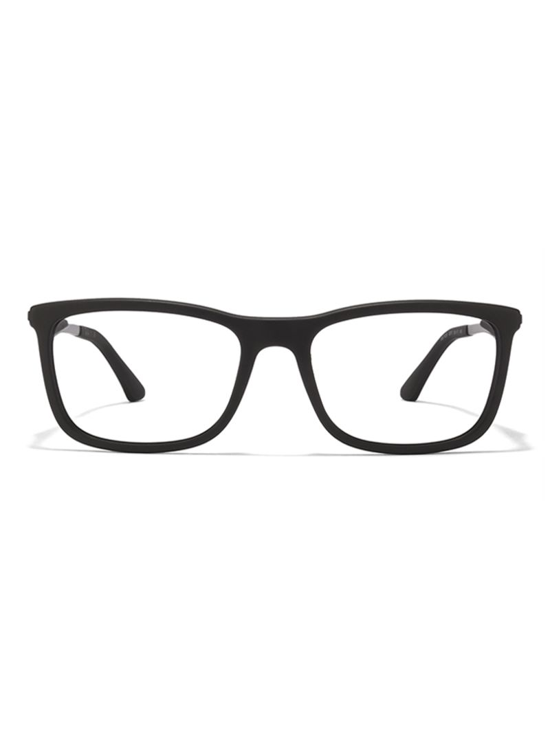 a1ce5e0110e55 Shop Ray-Ban Rectangular Eyeglass Frame RX7029 2077 55 online in ...