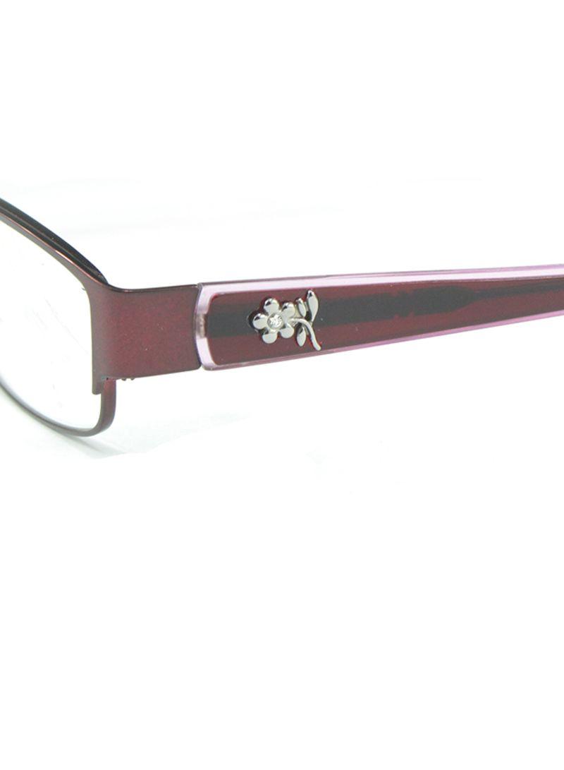 44dec25de3705 Shop Maxmorgan Women s Optical Rectangular Eyeglass Frame MMF122C4 ...