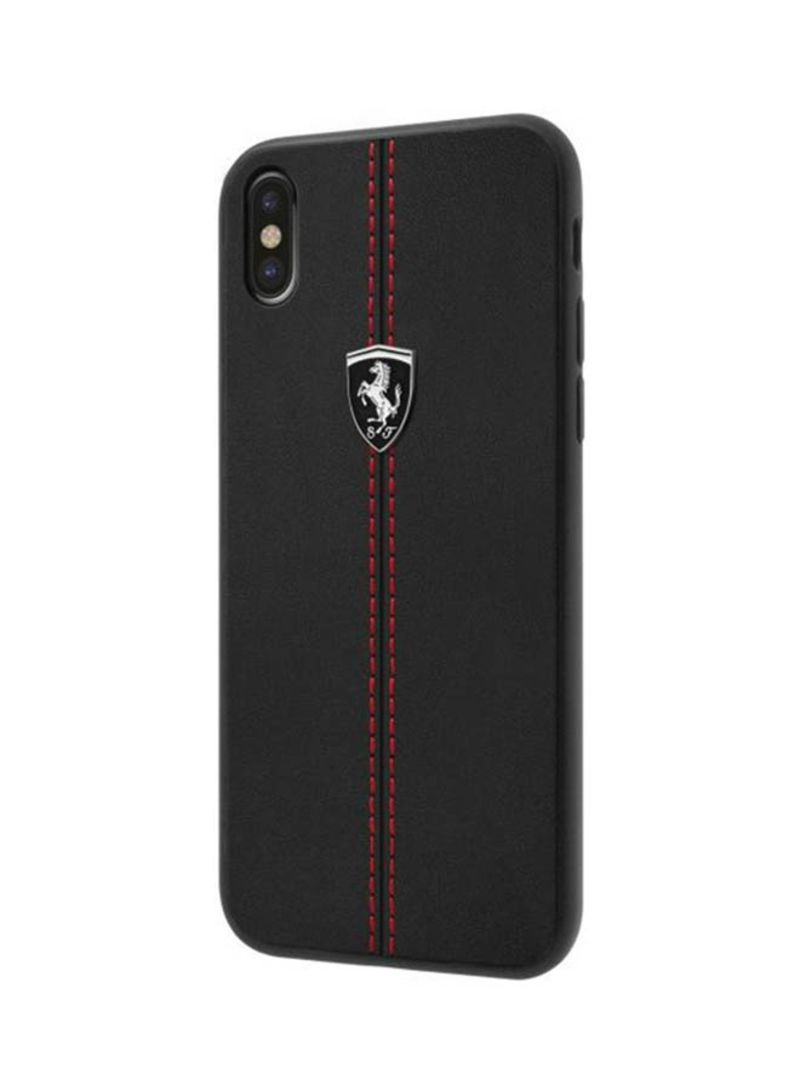 best cheap dfd53 212c9 Shop Ferrari Back Cover For iPhone X Black online in Dubai, Abu Dhabi and  all UAE