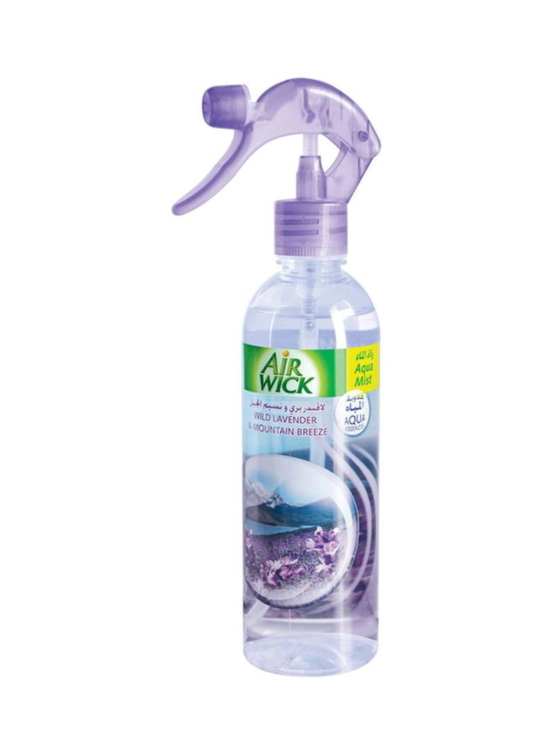 Air Freshener Aquamist - Wild Lavender & Mountain Breeze 345