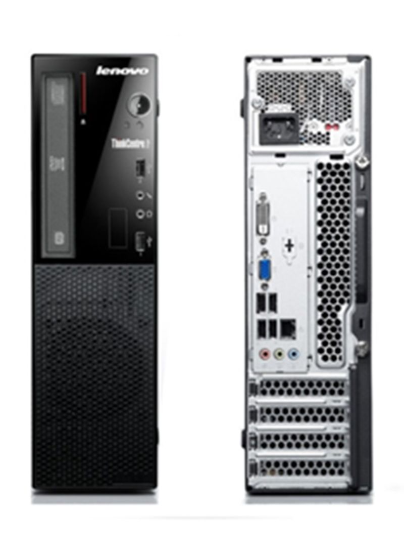 Lenovo E73-10AU00B3AX-SFF Tower PC 4GB RAM 500GB HDD With Keyboard And Mouse Black