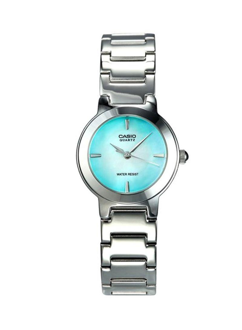 21fa39148 Shop Casio Women's Water Resistant Analog Watch LTP-1191A-3C online ...