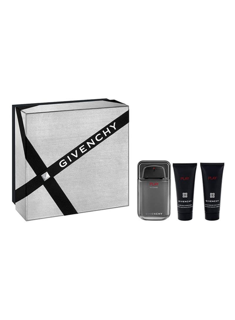 Shop Givenchy Play Intense Gift Set Edt 100ml Shower Gel 75ml And