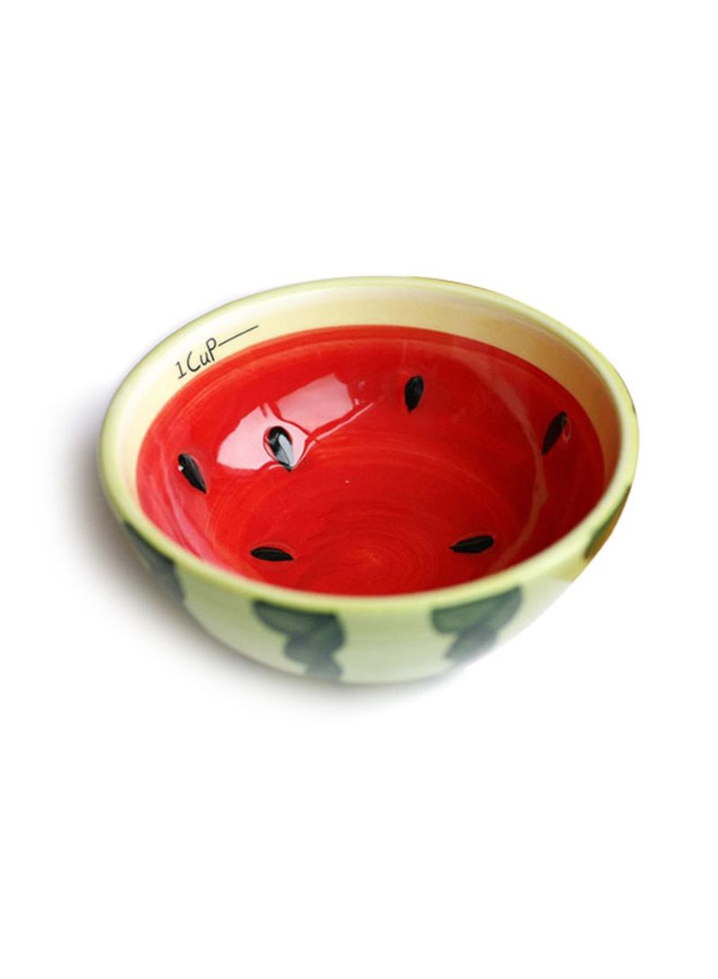 Watermelon Designer Bowl Red/Green/Black | Kitchenware And Home ...