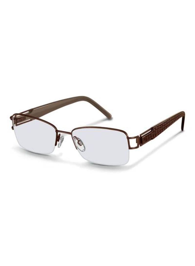 c9cfa64ba8 Shop Rodenstock Semi Rimless Eyeglass Frame 2191-C-52 online in ...