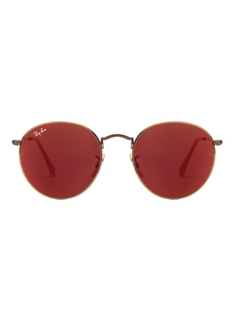 a8033b20c6 Shop Ray-Ban Round Metal Sunglasses RB3447-167 2K-50 online in ...