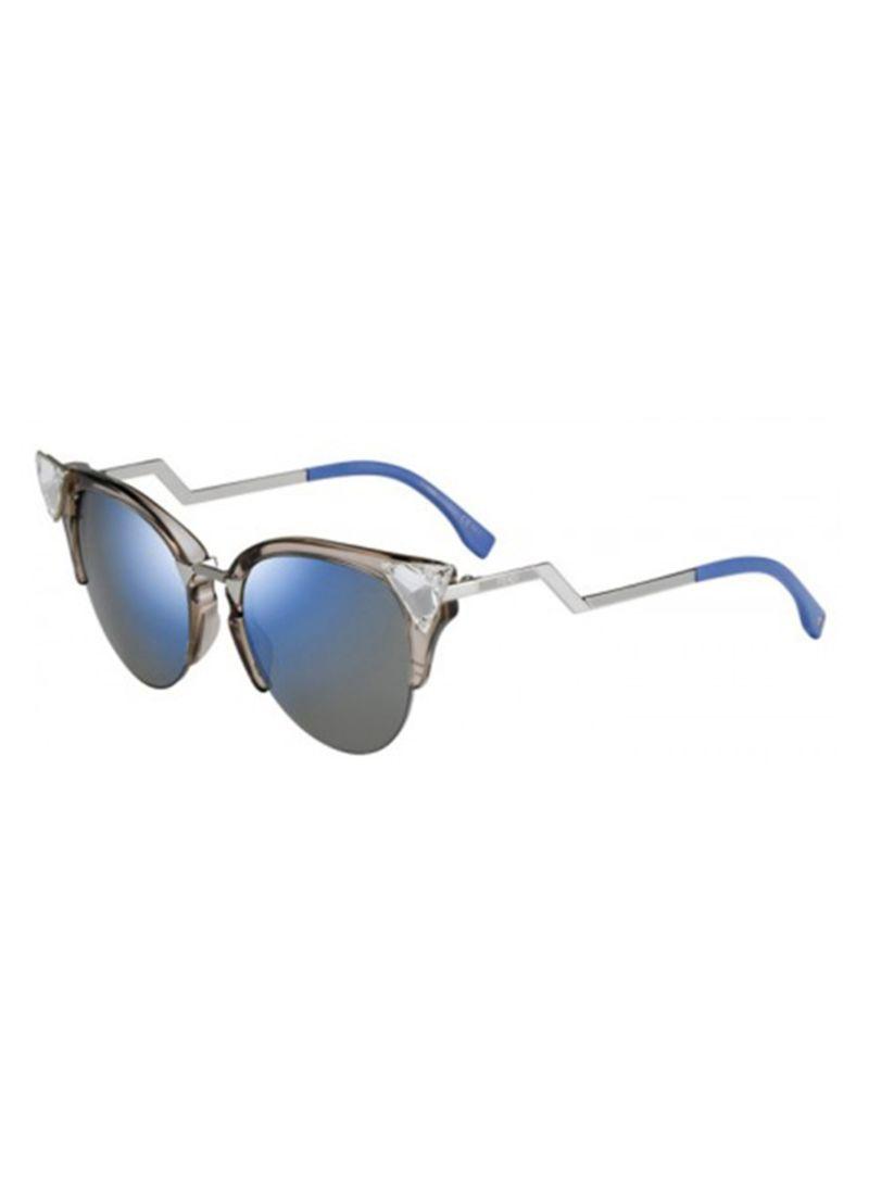 d75d69774 Shop Fendi Women's Cat-Eye Sunglasses FN-0041/S-9F4523U online in ...
