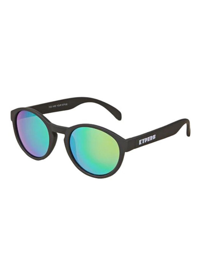 924076ea7e Shop KYPERS Round Frame Mojito Polarized Sunglasses MJ001N online in ...