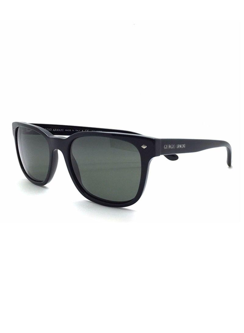 2c1f0f374 تسوق جورجيو أرماني ونظارات شمسية بإطار وايفارير طراز AR8049 للرجال ...