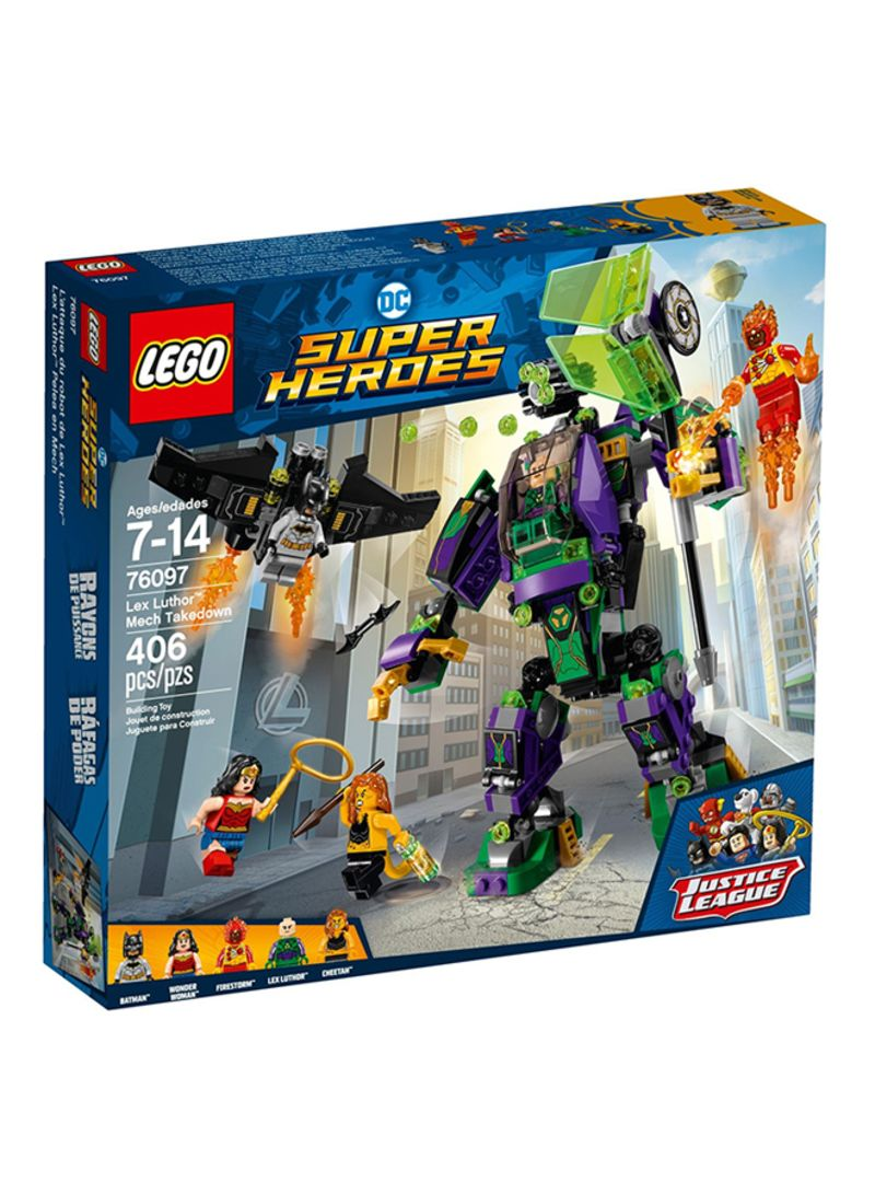 Shop LEGO Super Heroes Lex Luthor Mech Takedown 76097 online in Dubai, Abu  Dhabi and all UAE