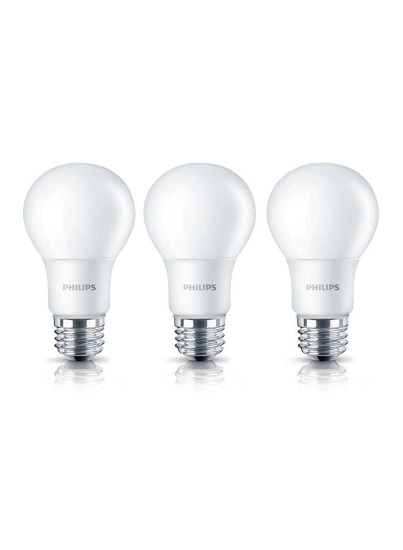 Buy 3-Pack LED 3000K E27 Bulbs Warm White in UAE