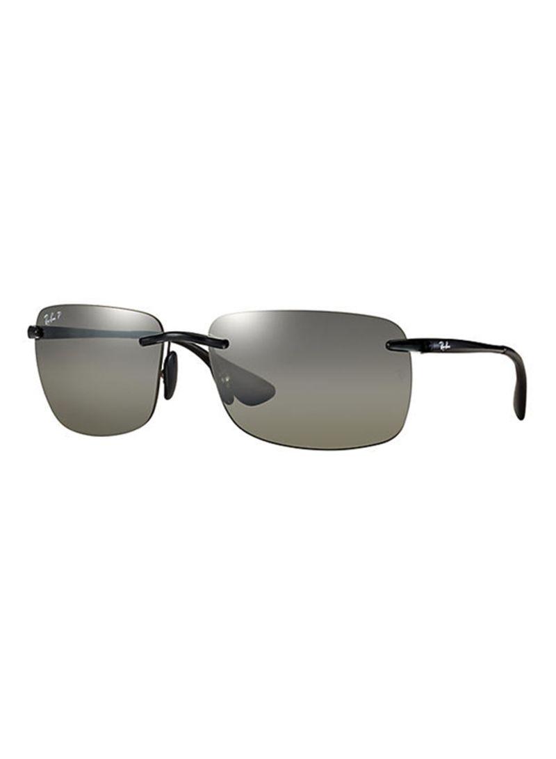e5595a52d4 Buy Men s Chromance Polarized Rectangle Sunglasses 601 5J RB4255 in UAE
