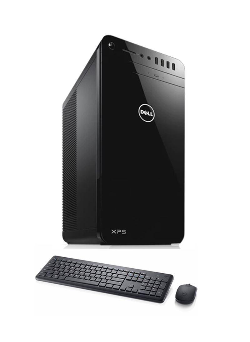 Dell XPS 8920 - 1086 DT Tower PC Core i7 Processor 24GB RAM 1TB HDD 8GB AMD  Radeon RX-480 GDDR5 Graphics With Keyboard And Mouse Black