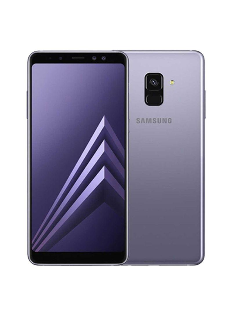 07e136d2d48 Shop Samsung A8 Plus Dual SIM Orchid Grey 64GB 4G LTE online in ...