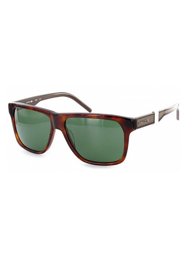 2ab73a82c29f Shop Lacoste Men's Full Rim Wayfarer Sunglasses 702S-218 online in ...