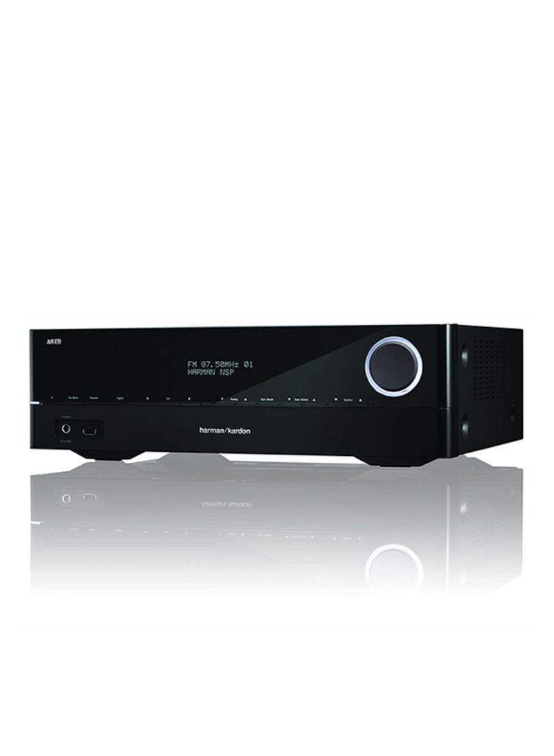 Shop Harman Kardon Audio Video Receiver AVR 161 S 5 1 Channel Black