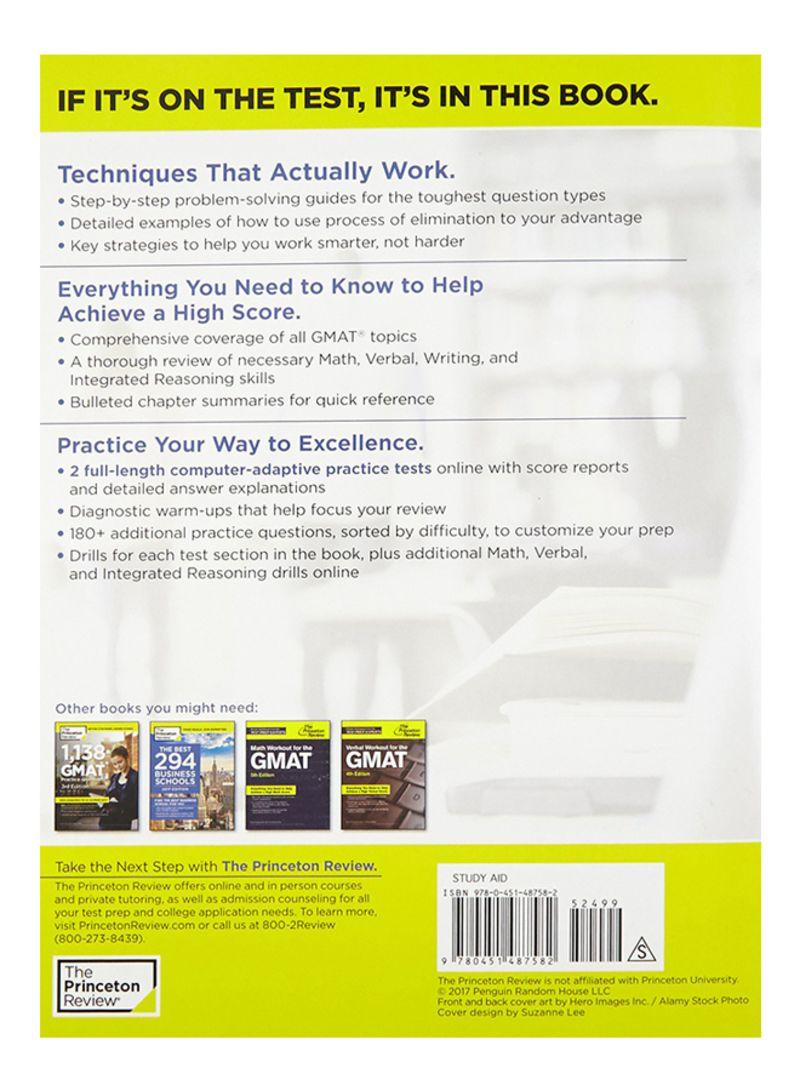 تسوق وCracking the GMAT With 2 Computer-Adaptive Practice Tests, 2018  Edition 2018 - غلاف ورقي عادي أونلاين في