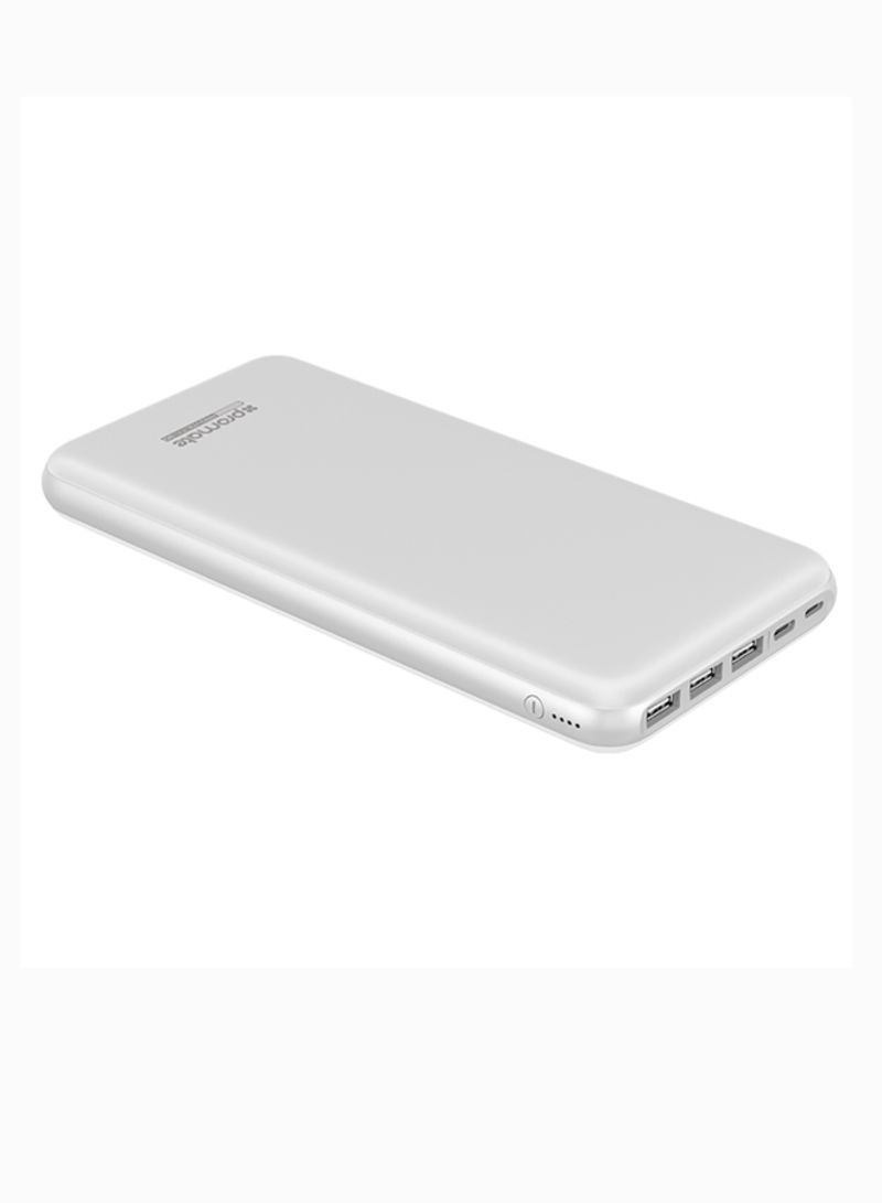 Portable Charger High Capacity Smart Power Bank With Anker Astro E7 26800 Mah Black A1210h12 Lightning And Micro Usb Input Three Output 2 Way Type C Charging Port For All Powered Devices 30000 White