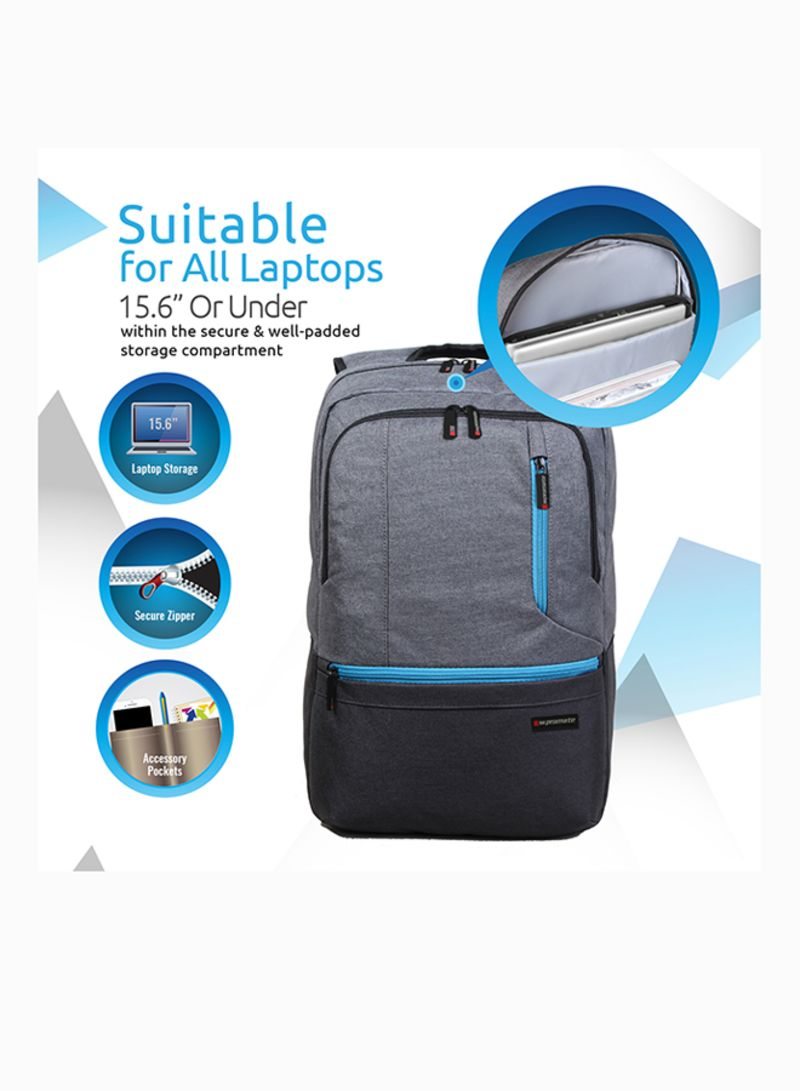 178c4a89478e Shop Promate Premium Water-Resistant Backpack Bag for 15.6-Inch ...