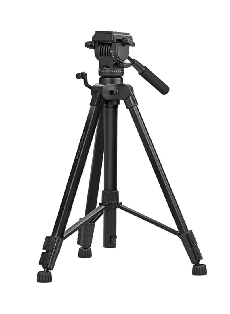 Camera Tripod Professional Aluminum 170cm With 3 Way Pan Weifeng Portable Stand 4 Section Aluminium Legs Brace Head Quick Release Plate 5kg Load Capacity Bubble Level For Canon Nikon Dslr