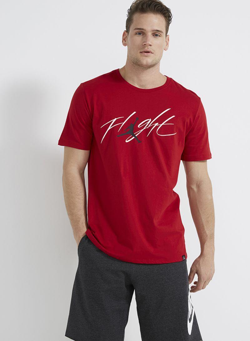 ffe660dfa2c8 Shop Nike Jordan Flight Brand 4 T-Shirt Red online in Egypt