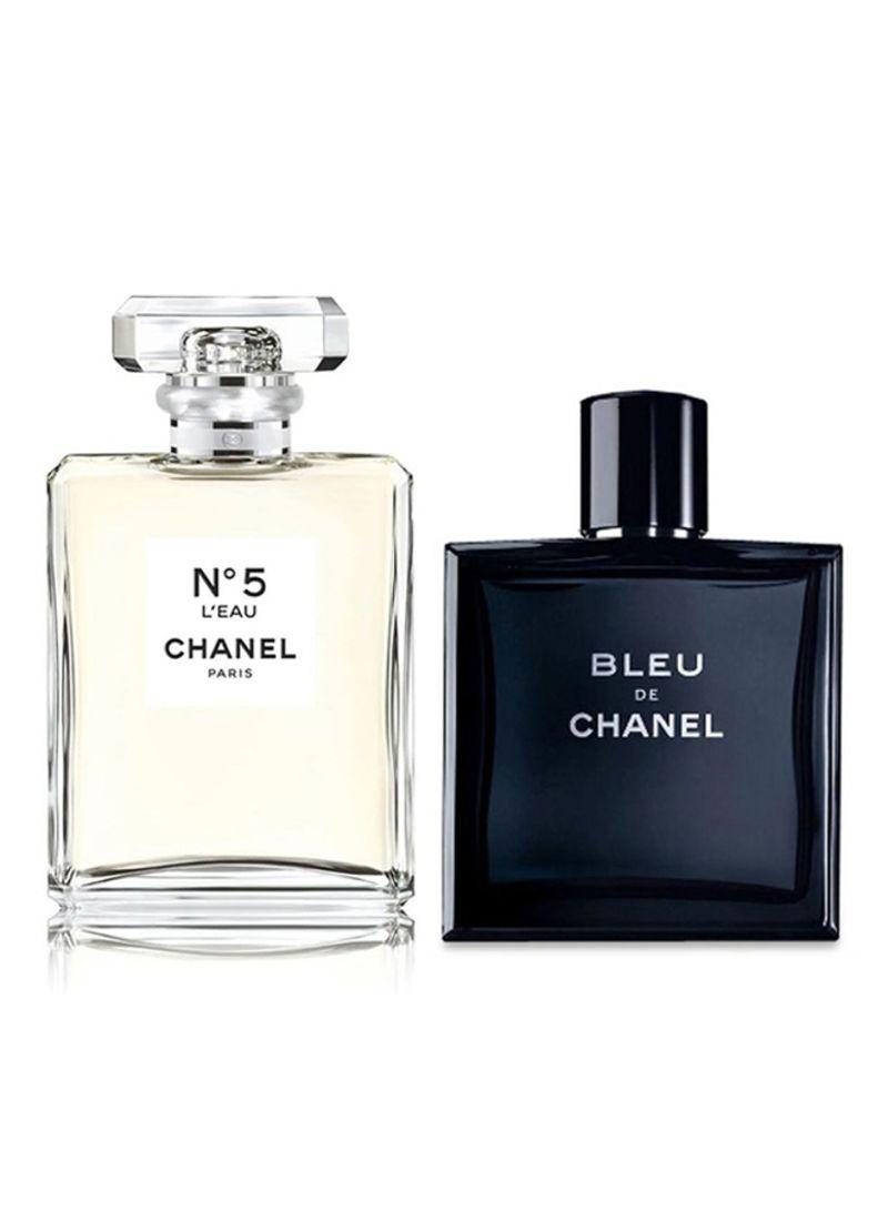 Shop CHANEL Bleu De Chanel Men 50 ml   Chanel No 5 Women 50 ml ... 514384b2c