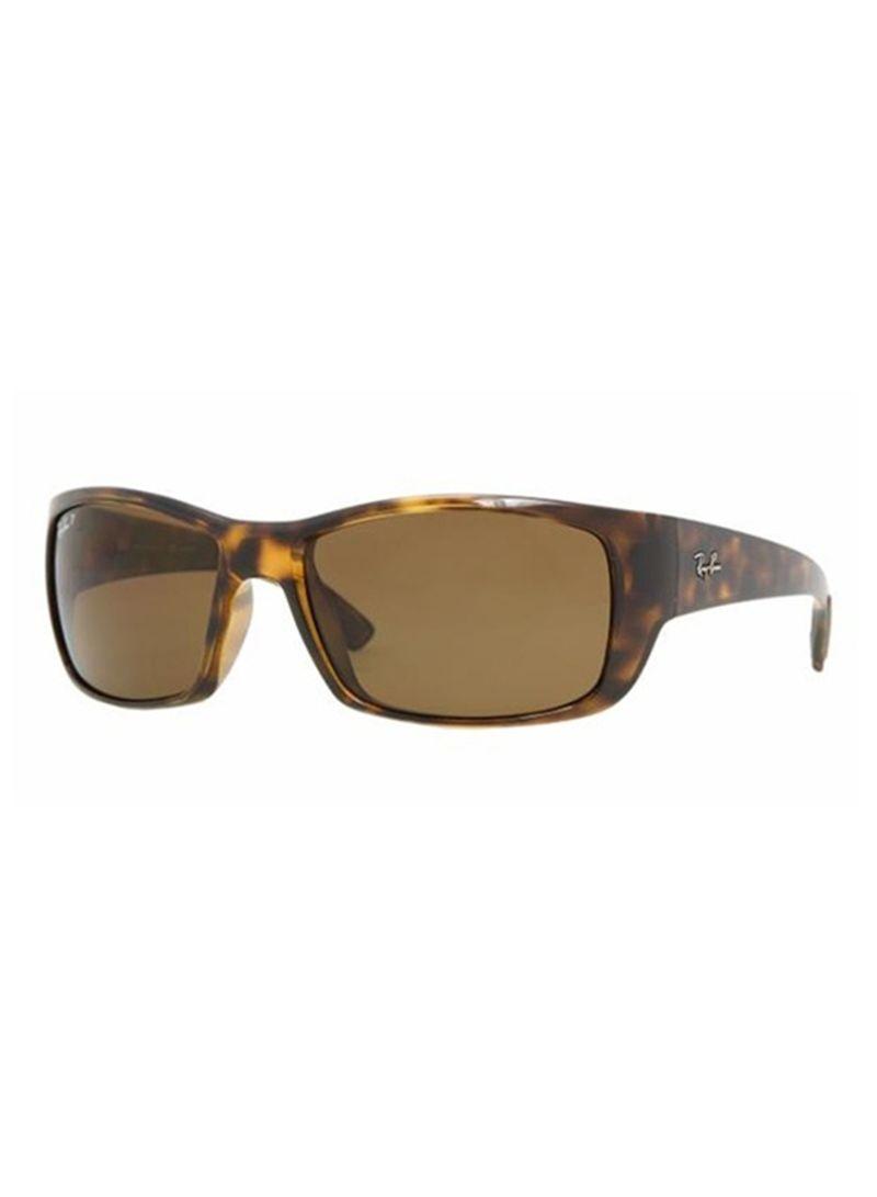 610f357b2cd2 Shop Ray-Ban Men's Full Rim Rectangular Sunglasses 4149-710-57-3B ...