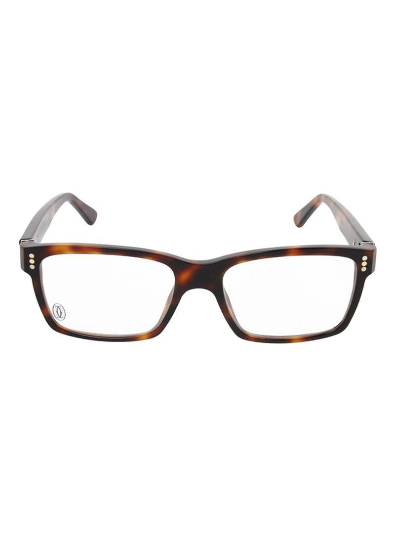 fb5837eb9 تسوق كارتييه وإطار نظارة طبية مستطيل كامل الحواف طراز K004965-54 ...